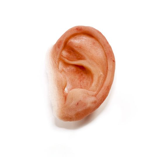 Silicone prosthetic ear